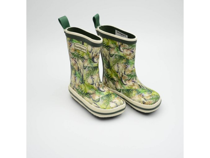 BUNDGAARD CLASSIC RUBBER BOOT DJUNGLE ELEPHANT