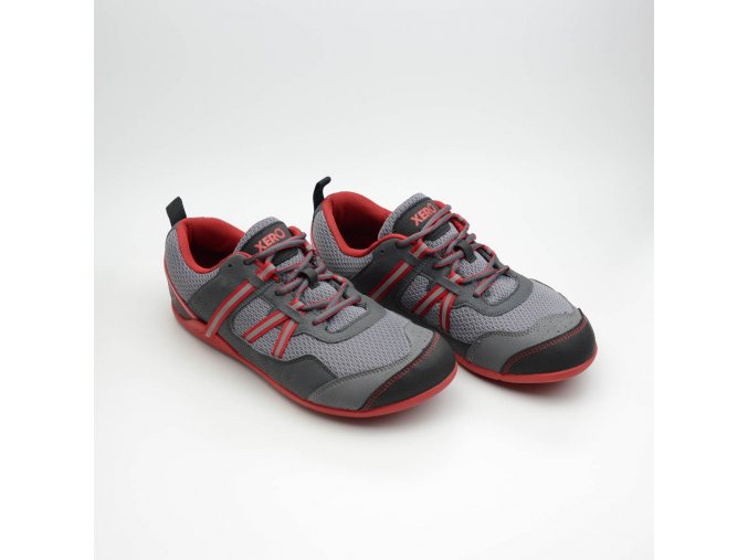 XERO SHOES PRIO M Charcoal/Red