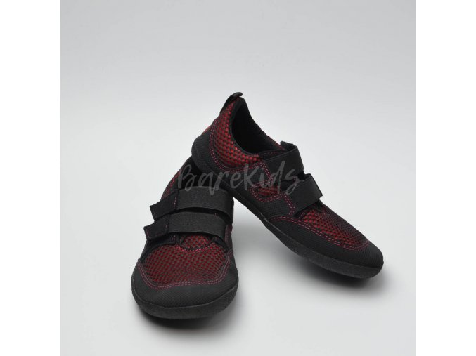 SOLE RUNNER PUCK LE RED/BLACK