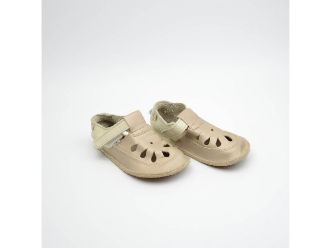 BABY BARE SHOES IO - GOLD - TS