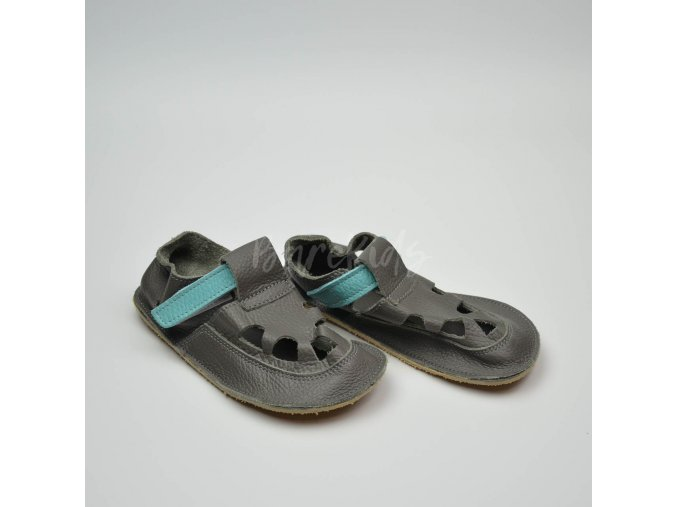 BABY BARE SHOES IO BLUE BEETLE SUMMER PERFORATION