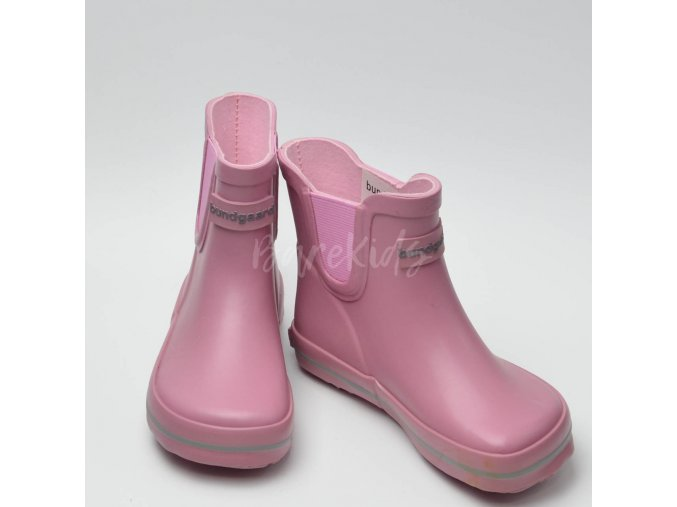 BUNDGAARD CLASSIC SHORT RUBBER BOOTS OLD ROSE