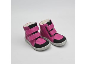 BABY BARE SHOES WINTER FUCHSIA ASFALTICO