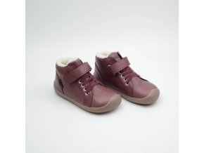 BUNDGAARD WALKER MID LACE PLUM WS