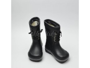 BUNDGAARD SAILOR RUBBER BOOTS WARM BLACK