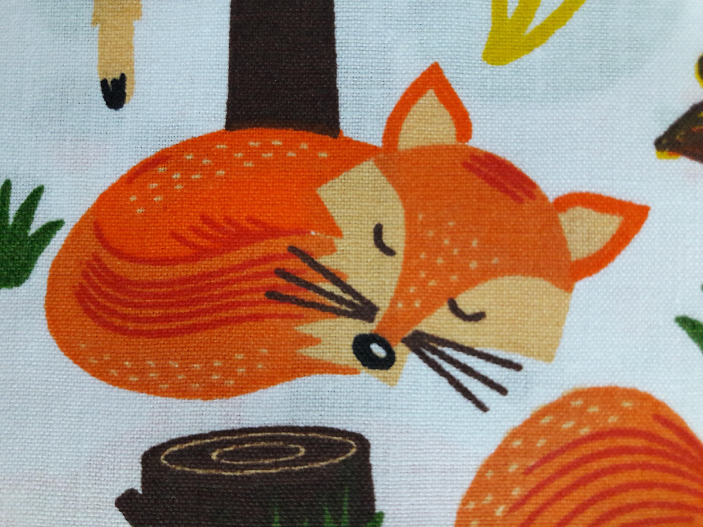 lišky, sovy, ježci, zajíčci