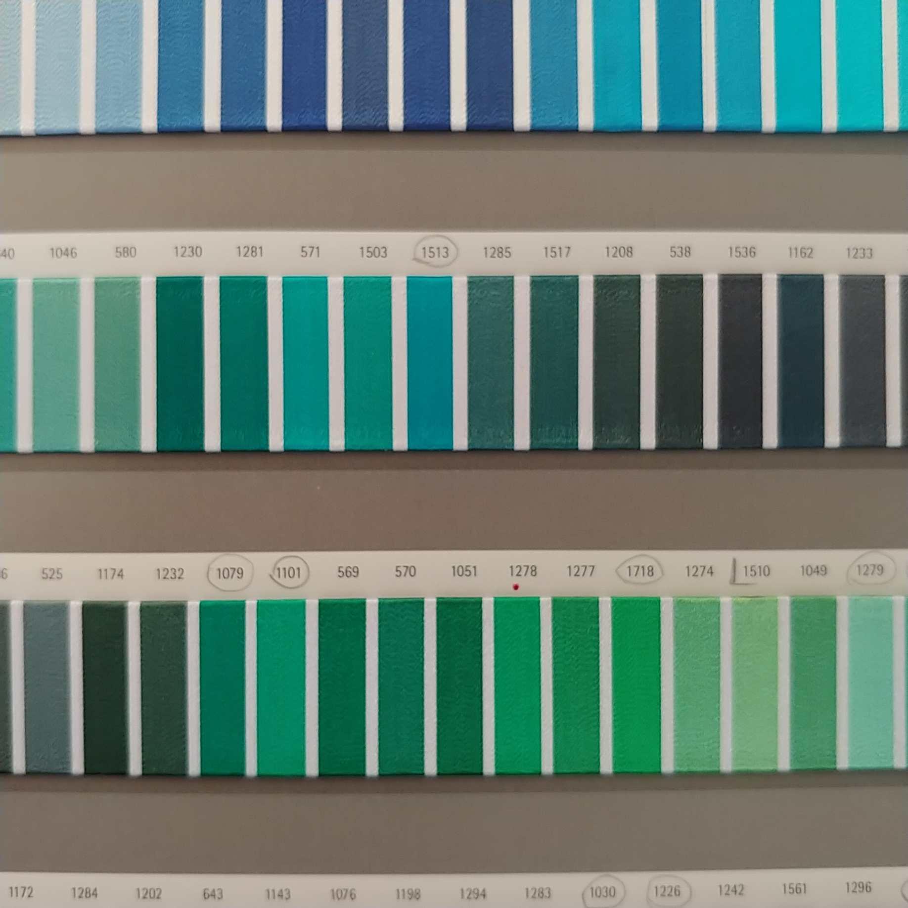barevnice - vzorník