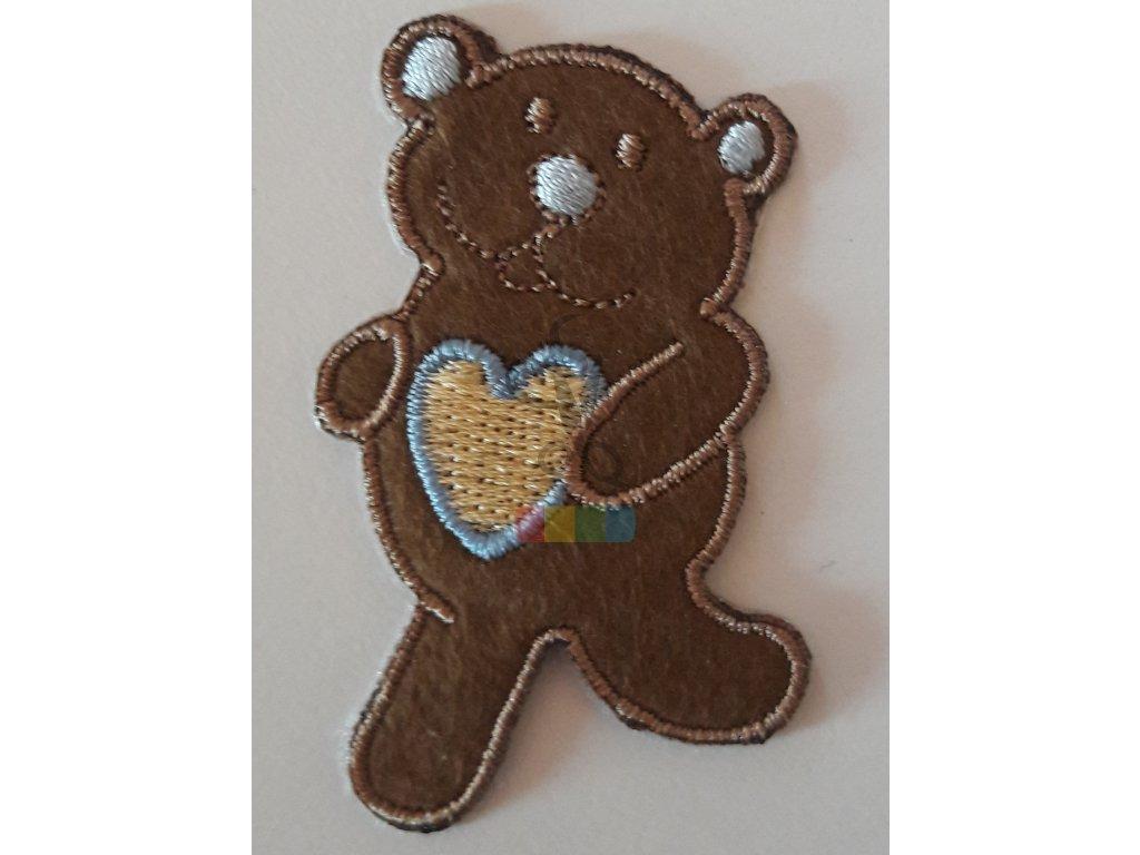 nažehlovačka malý medvídek