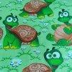 bavlněná látka - želvy