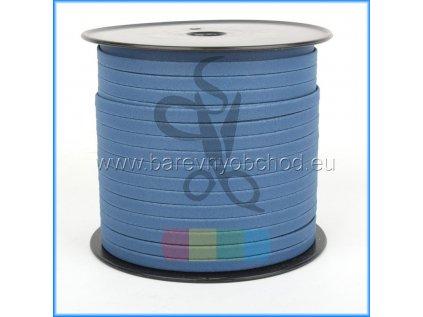 korkový pásek 10 mm tmavě modrý
