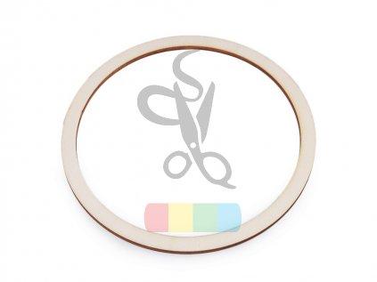 dřevěný kruh na lapače snů 12 cm