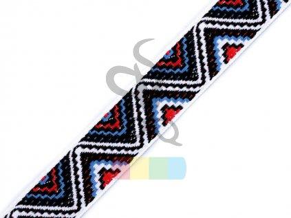 prýmek s indiánským motivem 20 mm - různé barvy