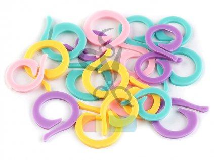 Spínací kroužek na pletení - 20 ks