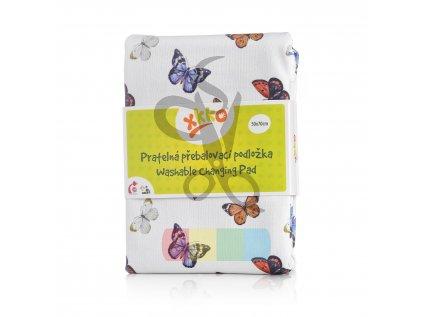 pratelna prebalovaci podlozka xkko 50x70 butterflies abd