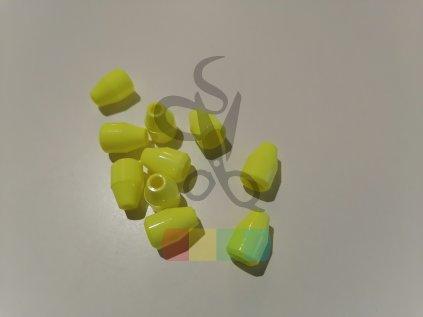 koncovka na šňůru 4 mm, 1 pár - více barev