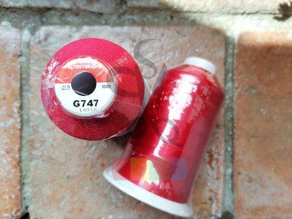 COFEE - polyesterová -  červená - 5000 m - G747