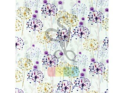 [S1013R 183053] [S1013R] Poplin Digital Printed Mix 6 (Dandelion)