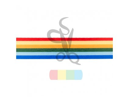 [529R 33135] [529R] Webbing Deco (Horizontal Stripes)