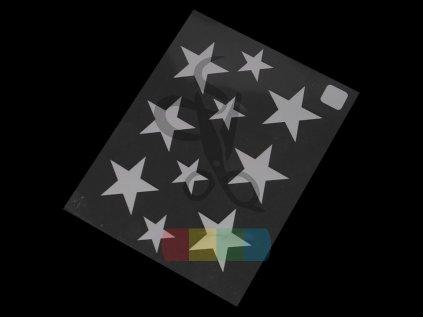 svítící nažehlovačka - hvězda