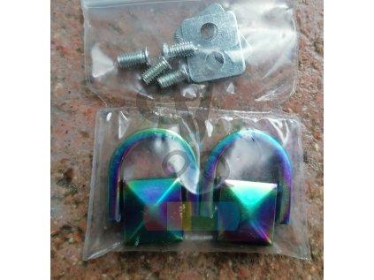 """konektor """"pyramida"""" - různé barvy (2 ks)"""