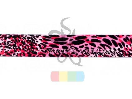 guma 25 mm - růžový panter