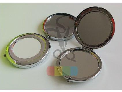 kosmetické zrcátko k dotvoření, kulaté, průměr 7 cm