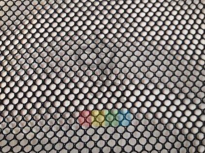 síťovina černá - šíře 160 cm