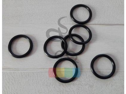 černý kov - kroužek 20 mm