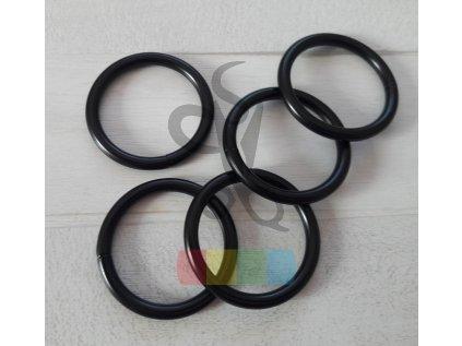 černý kov - kroužek 30 mm