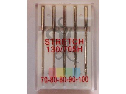Jehly strojové  - stretch 70-100