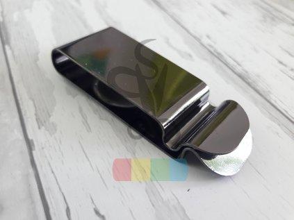 opaskový klip na pouzdro - 26 mm - černý nikl
