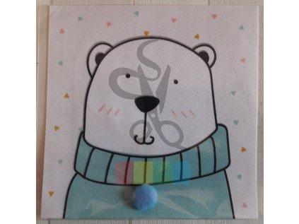 panel - 14x14 - medvídek