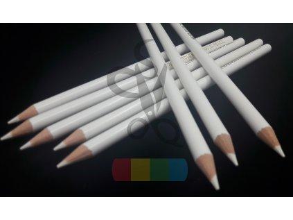 tužka na textil vodou odstranitelná - bílá