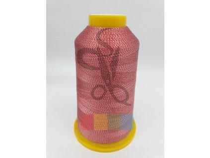 COFEE - dvoubarevná - červená - 4000 yd