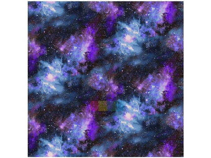 bavlněná látka -  Planetary Missions by Studio E