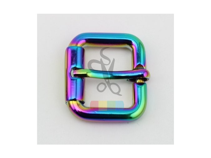 10pcs 50pcs Rainbow 20mm 24mm High quality Polished r turnbuckle zinc alloy square pin buckle bags