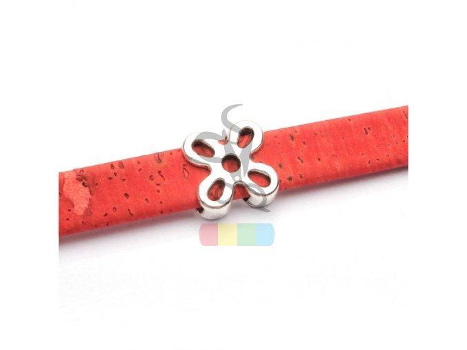 korkový pásek 10 mm - barva cihlová
