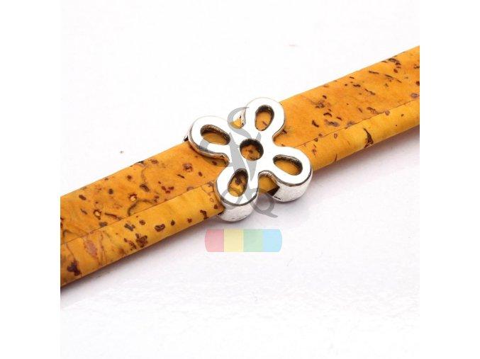 korkový pásek 10 mm - barva žlutohnědá