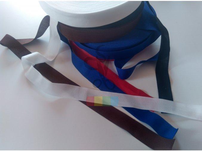 lemovka polysterová 25 mm - různé barvy