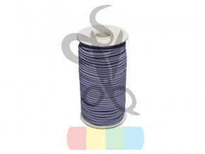 pruzenka 2 mm modra 398 polyester 50 m