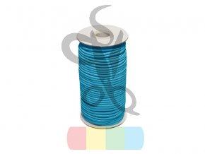 gumosznurek 3 mm niebieski 834 poliestrowy 50 mb (1)