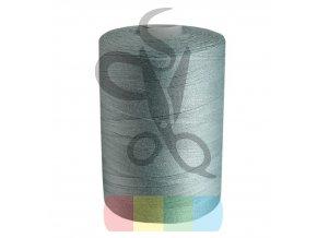 polyesterová nit pro overlocky i klasické šití návin 1000 m - šedá