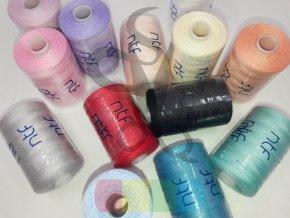 polyesterová nit NTF 120 - 1000 m - různé barvy