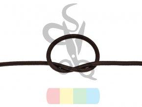 gumosznurek sznurek elastyczny 5 mm 141 ciemnobrazowy poliestrowy (1)