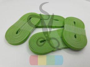 guma plochá 6 mm - návin 2 m - zelená