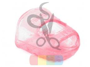 silikonový náprstek -  růžový