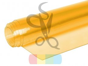 folia pcv transparentna przezroczysta 050 mm zolty