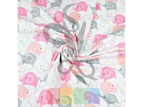 bawelna sloniki szaro rozowe na bialym tle (1)