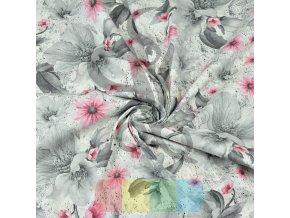 kwiaty magnolie szaro rozowe na bialym tle (1)