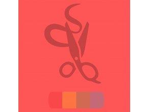červenorůžová